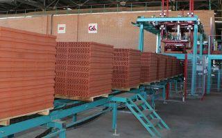 Мини-завод по производству кирпича, характеристики