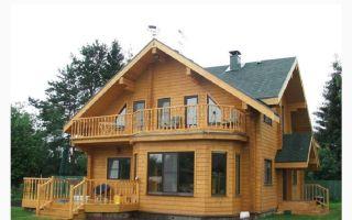 Деревянные дома под ключ, обзор различных технологий