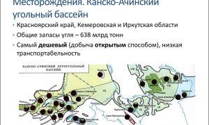 Канско ачинский угольный бассейн. географическое положение , способы добычи и перспективы месторождения
