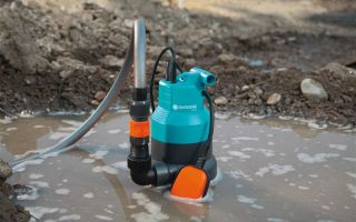 Откачка грязной воды, какой насос выбрать
