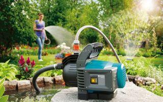 Водяные насосы для полива огорода— рекомендации по подбору нужной модели