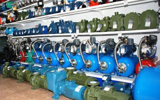Правила выбора насосного оборудования