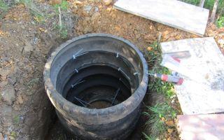 Как сделать выгребную яму из покрышек своими руками