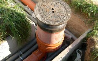 Устройство канализационного колодца — изучаем полностью