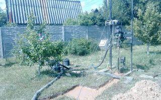 Гидробурение скважин на воду своими руками — совсем не сложно!