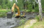 Какие услуги по очистке и углублению водоемов оказывают компании