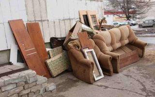 Вывоз старой мебели в москве, стоимость утилизации в столице