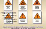 Классы опасности химических веществ. будьте осторожны — химия!