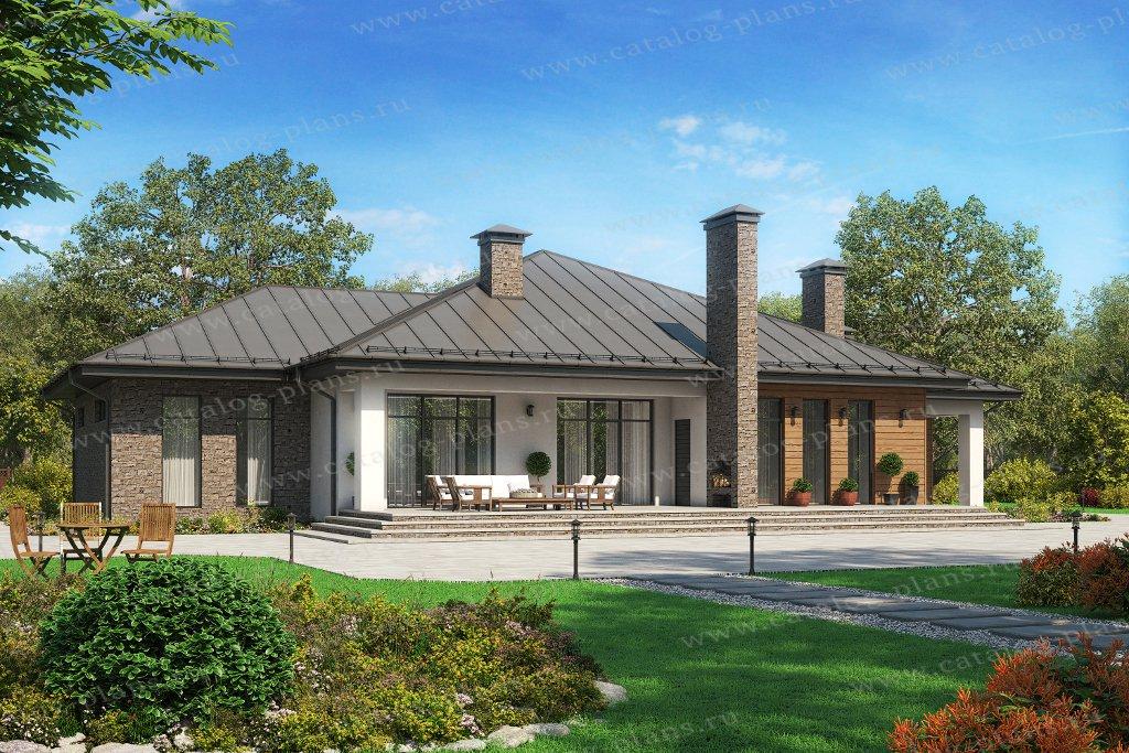 Проекты кирпичных одноэтажных домов - ЭкоПроблем